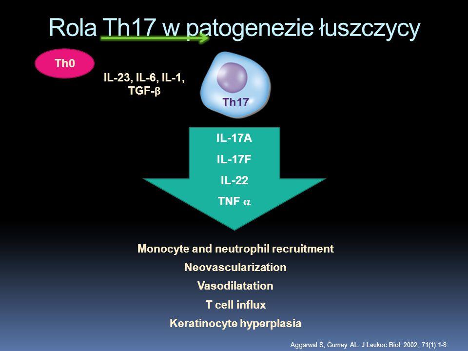 Rola Th17 w patogenezie łuszczycy
