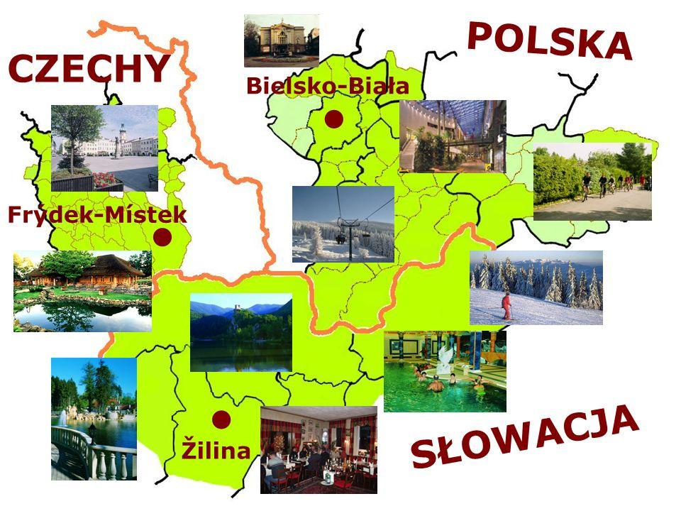 POLSKA CZECHY Bielsko-Biała Frýdek-Místek SŁOWACJA Žilina