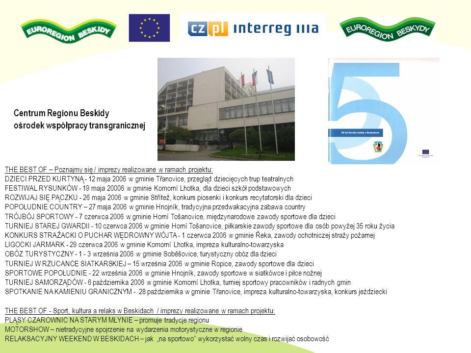 Centrum Regionu Beskidy ośrodek współpracy transgranicznej