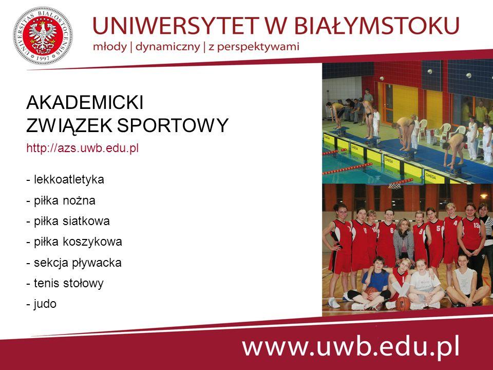 AKADEMICKI ZWIĄZEK SPORTOWY http://azs.uwb.edu.pl - lekkoatletyka