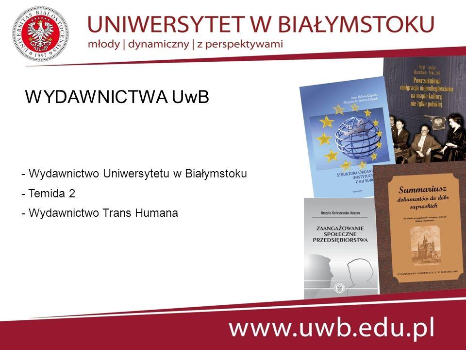 WYDAWNICTWA UwB - Wydawnictwo Uniwersytetu w Białymstoku - Temida 2