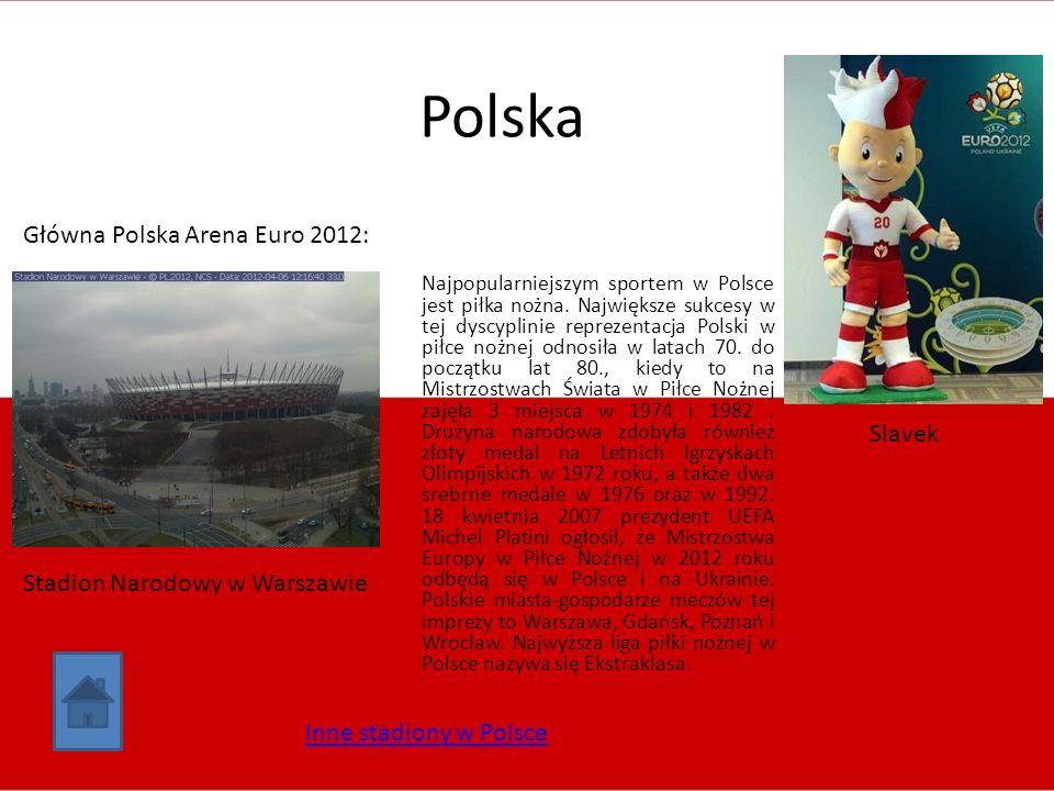 Polska Główna Polska Arena Euro 2012: Slavek