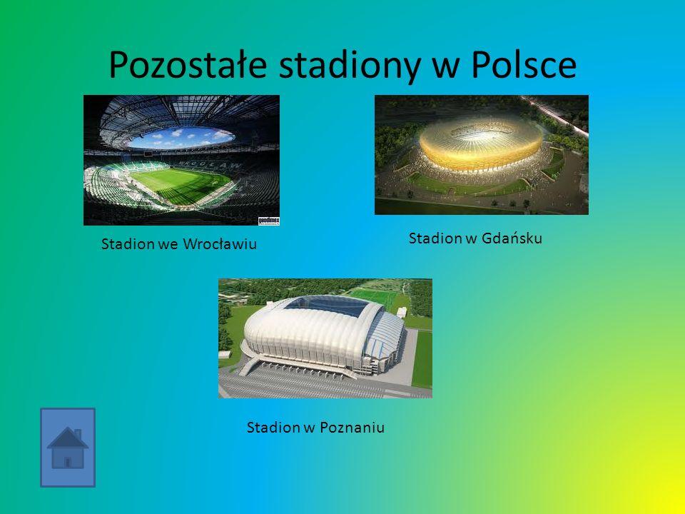 Pozostałe stadiony w Polsce