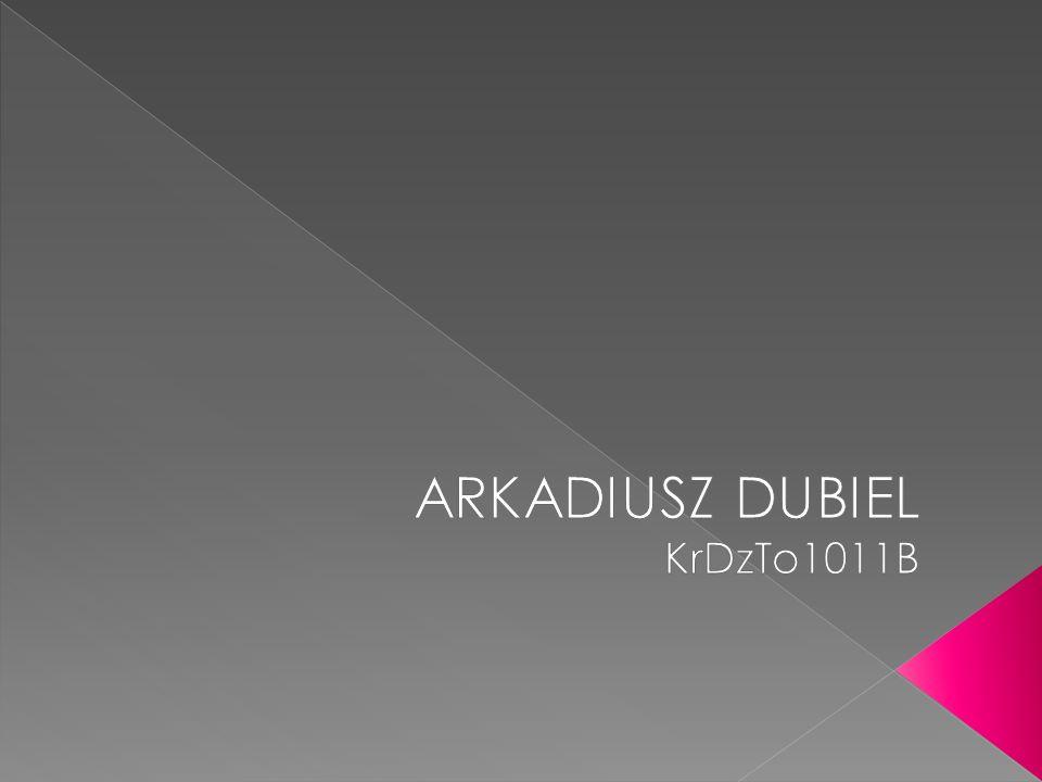 ARKADIUSZ DUBIEL KrDzTo1011B