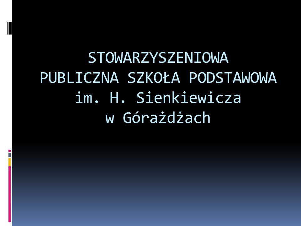 STOWARZYSZENIOWA PUBLICZNA SZKOŁA PODSTAWOWA im. H
