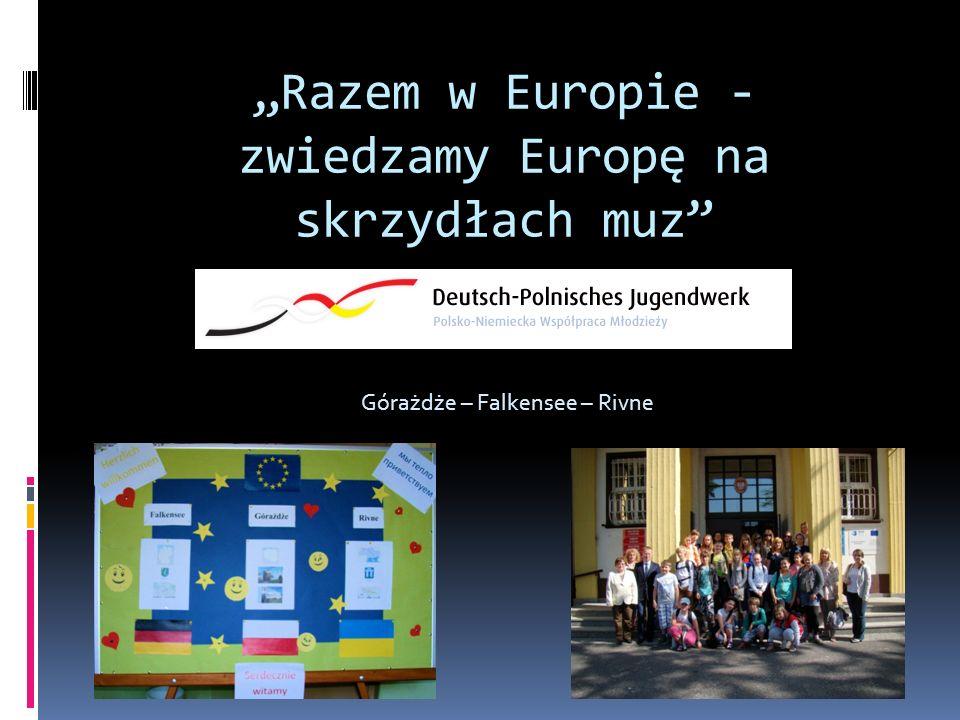 """""""Razem w Europie - zwiedzamy Europę na skrzydłach muz"""