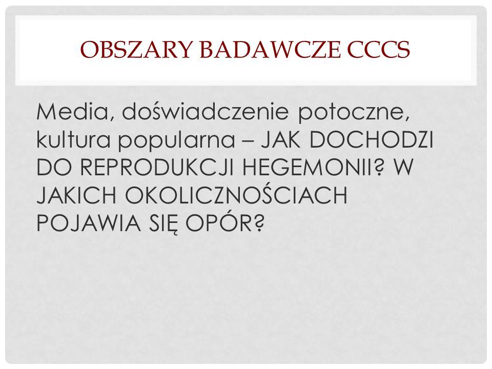 Obszary badawcze cccs