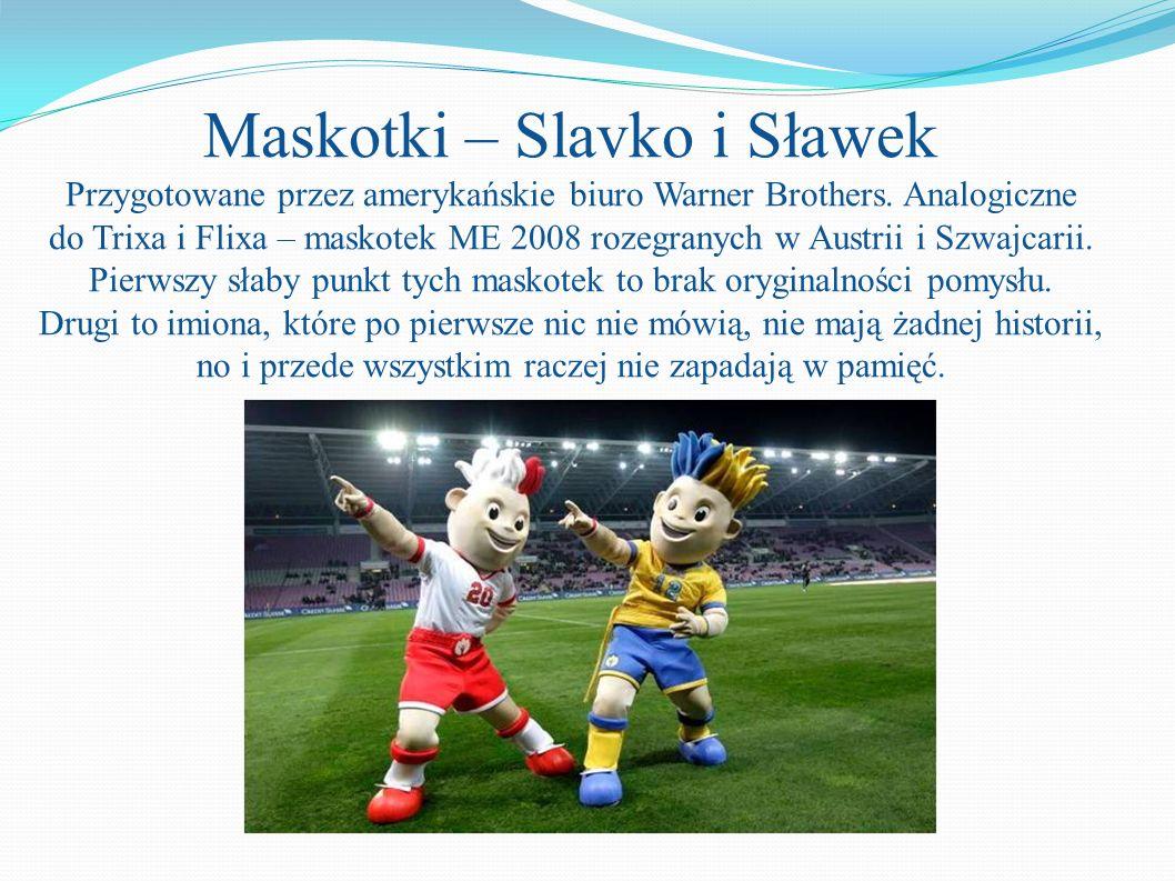 Maskotki – Slavko i Sławek