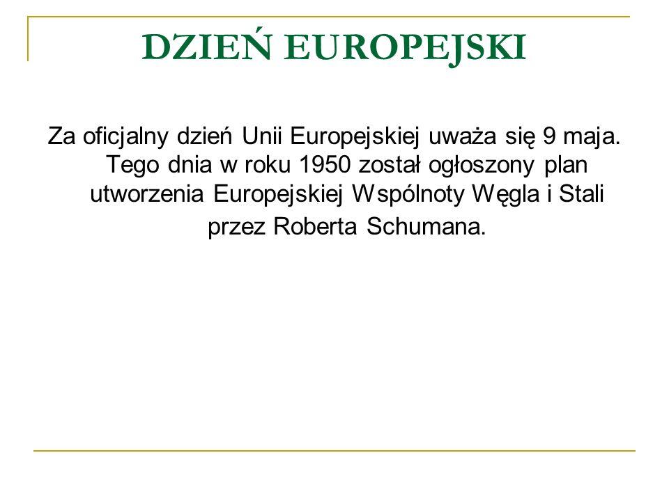 DZIEŃ EUROPEJSKI