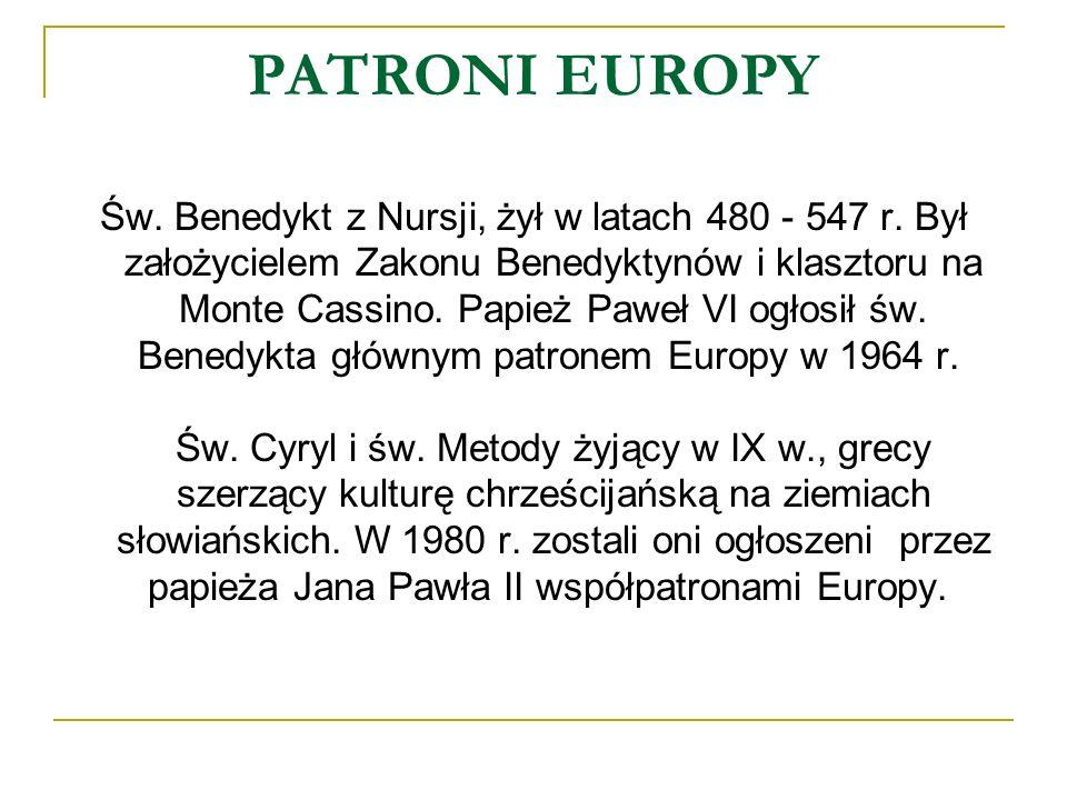 PATRONI EUROPY