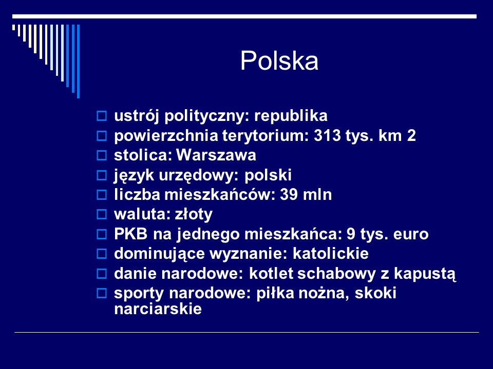 Polska ustrój polityczny: republika
