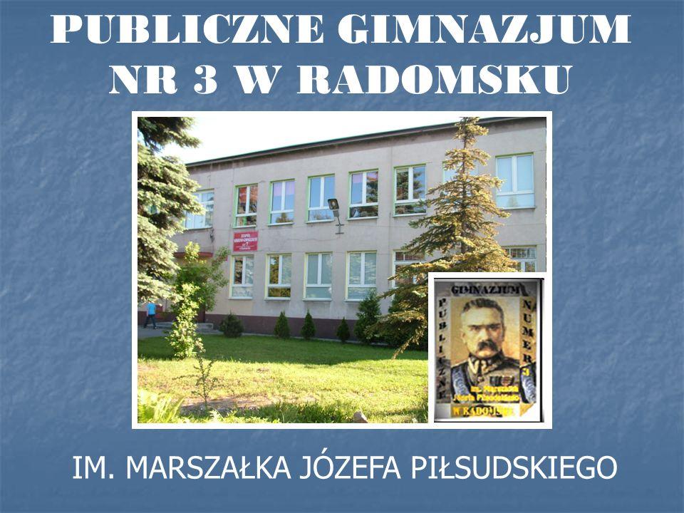 PUBLICZNE GIMNAZJUM NR 3 W RADOMSKU