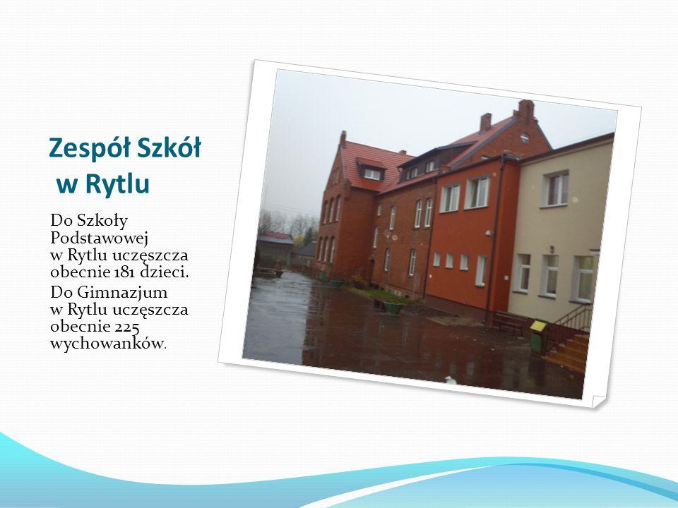 Zespół Szkół w Rytlu Do Szkoły Podstawowej w Rytlu uczęszcza obecnie 181 dzieci.