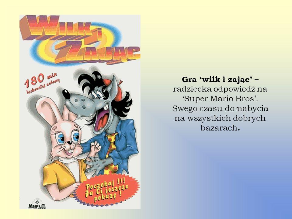 Gra 'wilk i zając' – radziecka odpowiedź na 'Super Mario Bros'