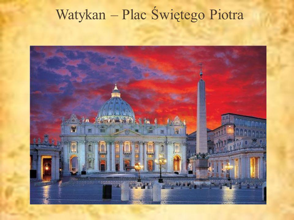 Watykan – Plac Świętego Piotra