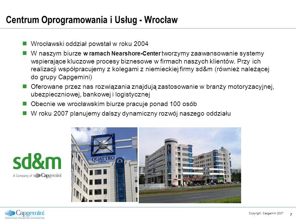 Centrum Oprogramowania i Usług - Wrocław