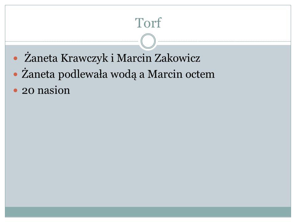 Torf Żaneta Krawczyk i Marcin Zakowicz