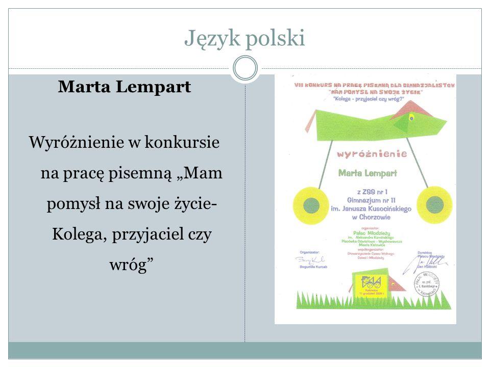 Język polski Marta Lempart