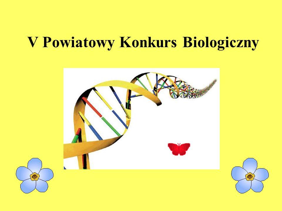 V Powiatowy Konkurs Biologiczny