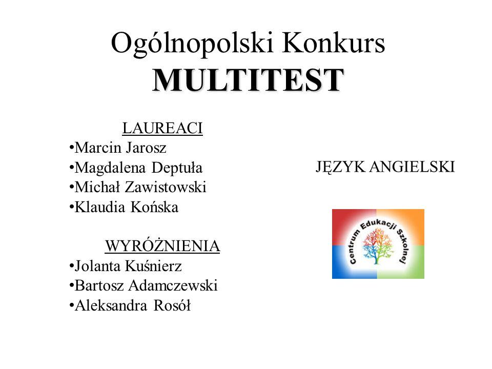 Ogólnopolski Konkurs MULTITEST
