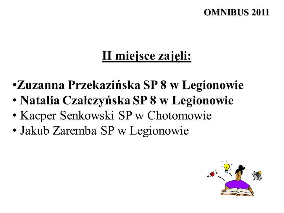 Zuzanna Przekazińska SP 8 w Legionowie