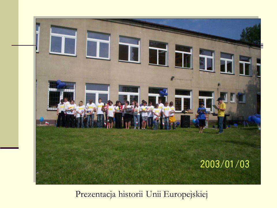 Prezentacja historii Unii Europejskiej