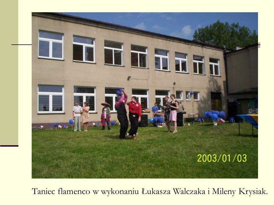 Taniec flamenco w wykonaniu Łukasza Walczaka i Mileny Krysiak.