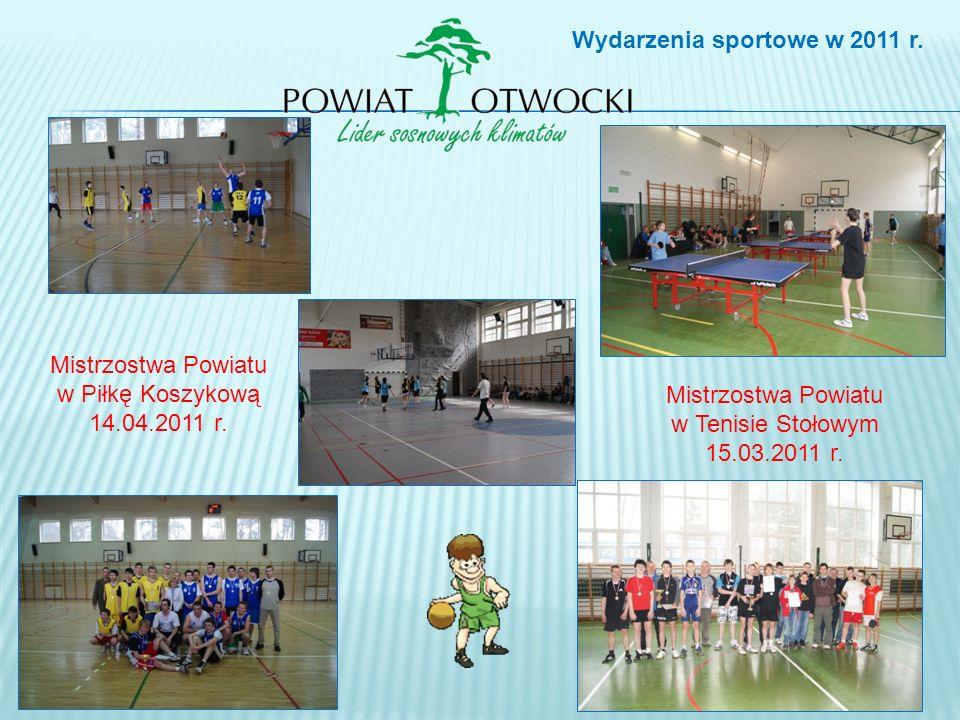 Wydarzenia sportowe w 2011 r.