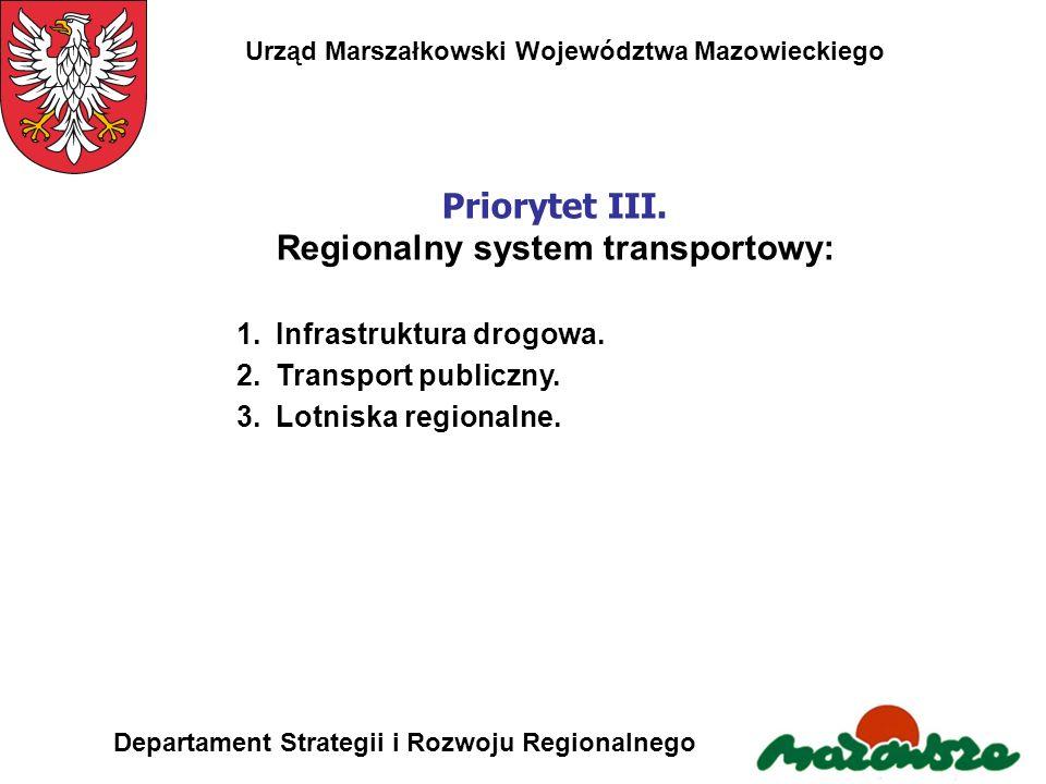 Regionalny system transportowy: