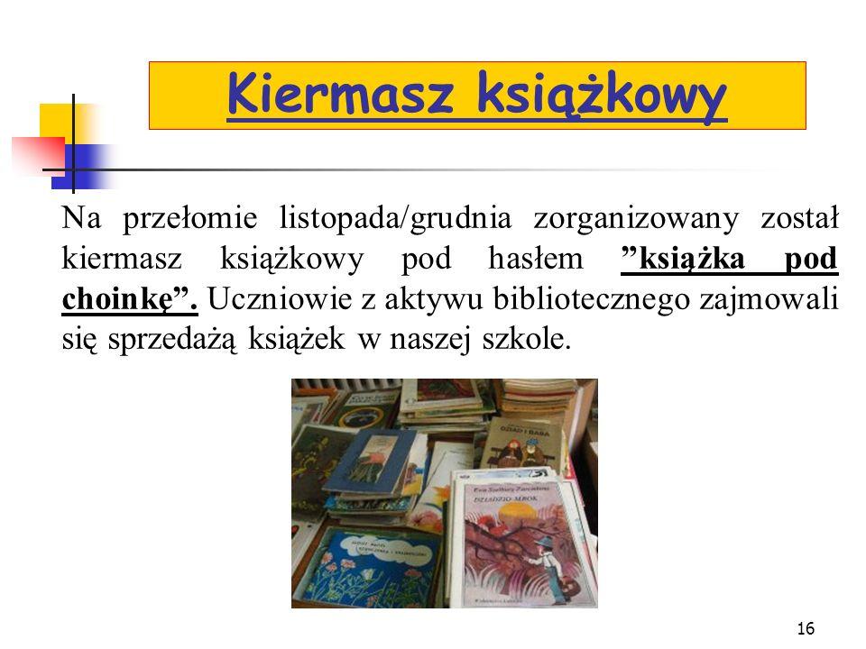 Kiermasz książkowy