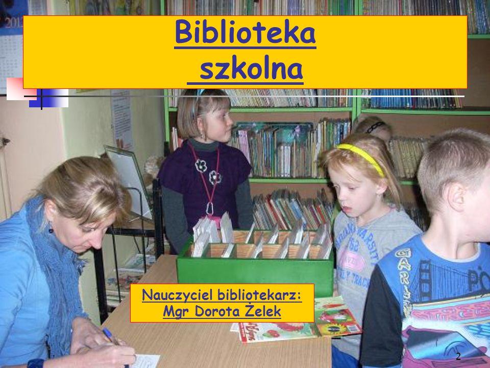 Nauczyciel bibliotekarz: