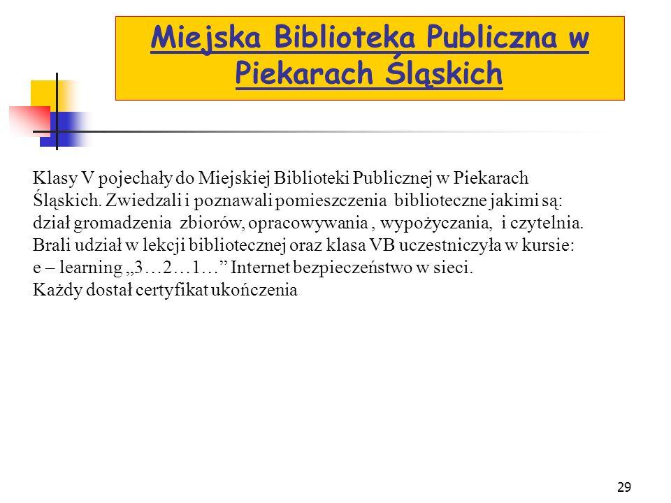 Miejska Biblioteka Publiczna w Piekarach Śląskich