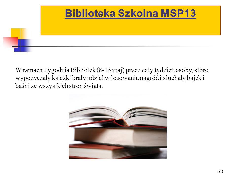 Biblioteka Szkolna MSP13