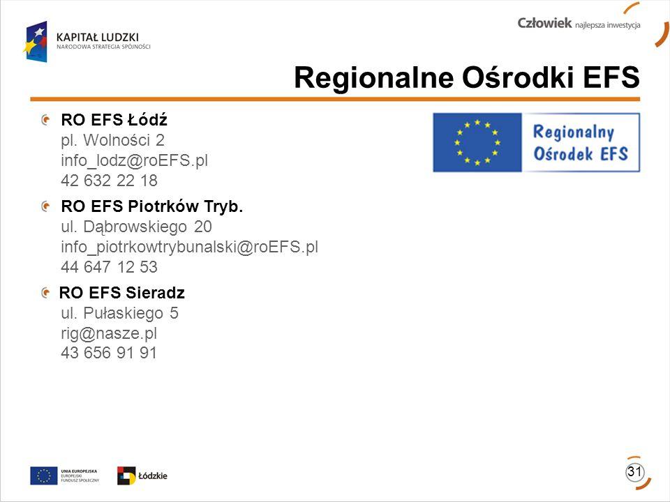 Regionalne Ośrodki EFS