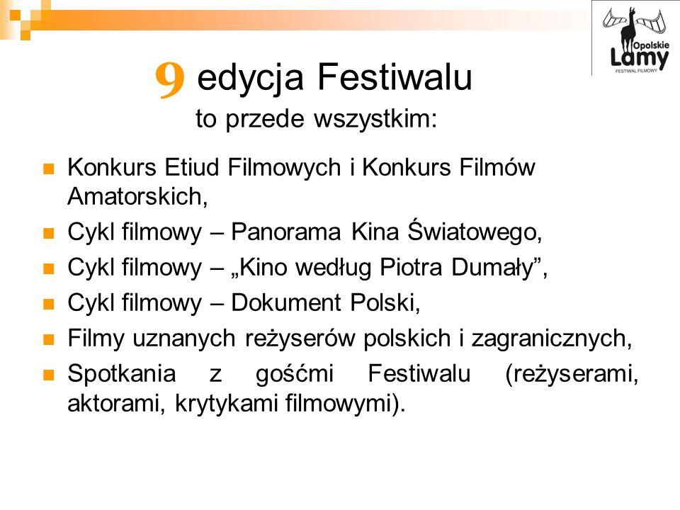9 edycja Festiwalu to przede wszystkim: