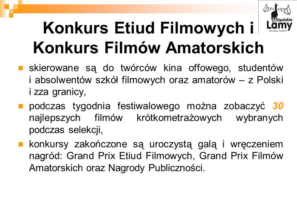 Konkurs Etiud Filmowych i Konkurs Filmów Amatorskich