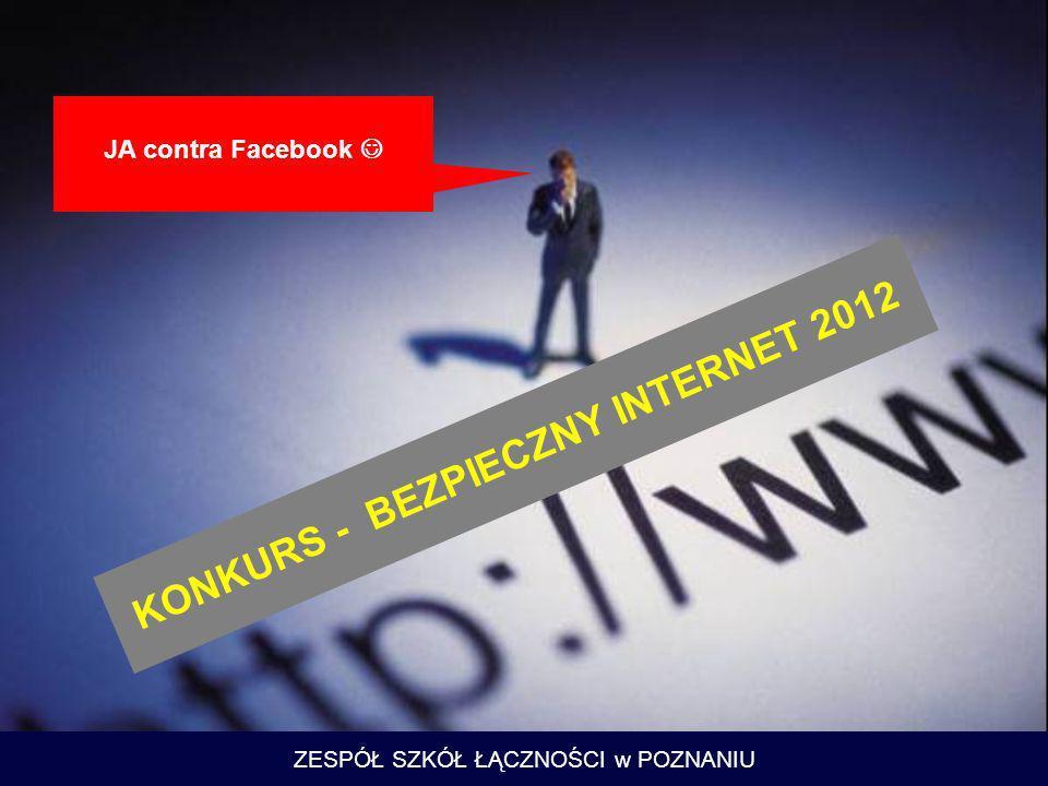 KONKURS - BEZPIECZNY INTERNET 2012