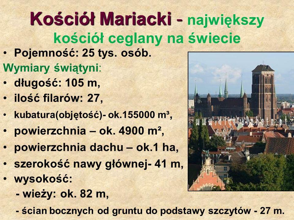 Kościół Mariacki - największy kościół ceglany na świecie