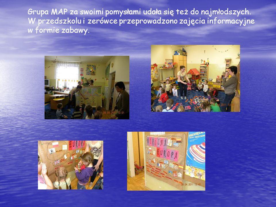 Grupa MAP za swoimi pomysłami udała się też do najmłodszych