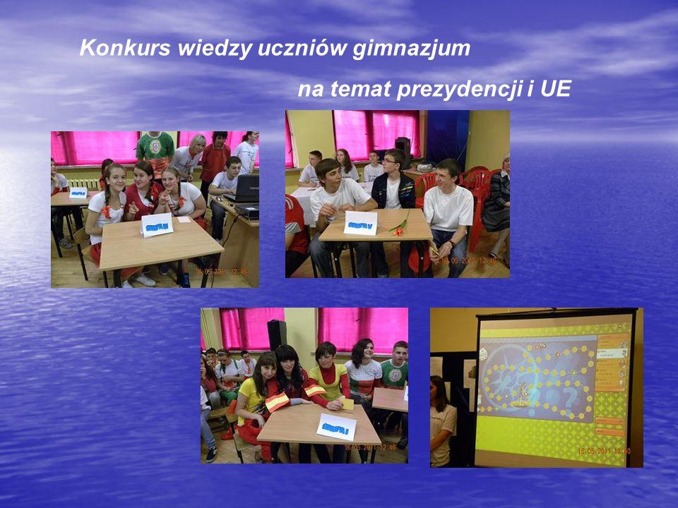 Konkurs wiedzy uczniów gimnazjum