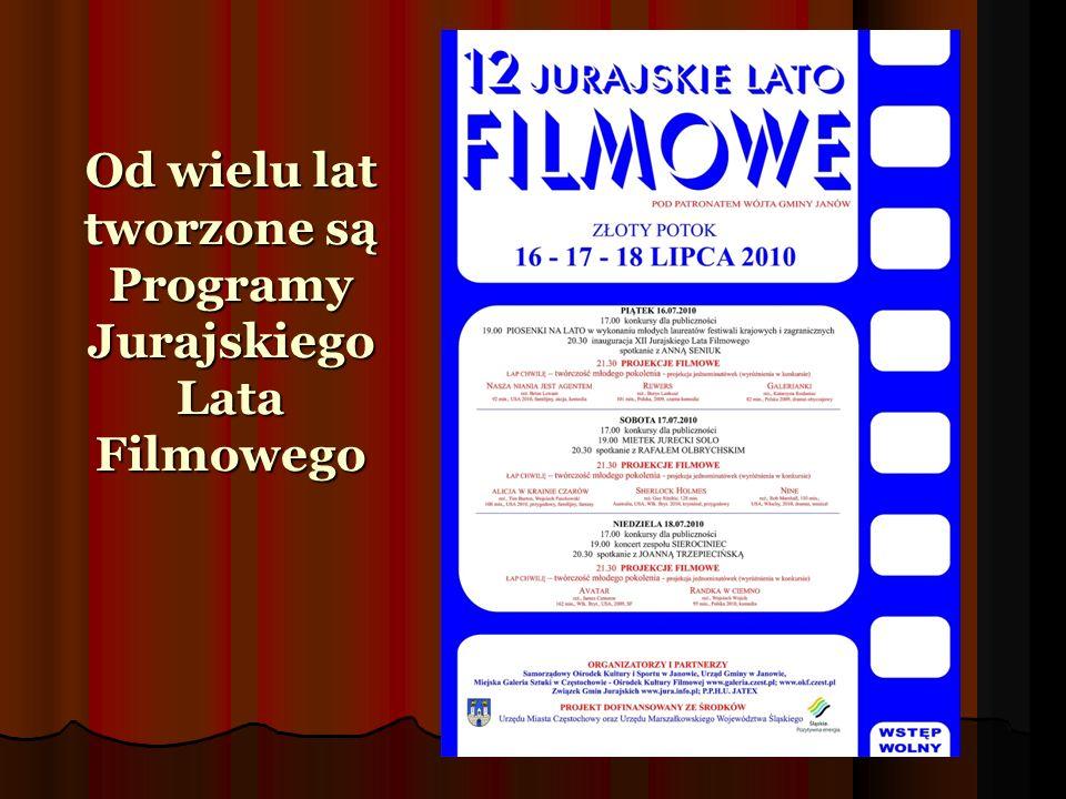tworzone są Programy Jurajskiego Lata Filmowego