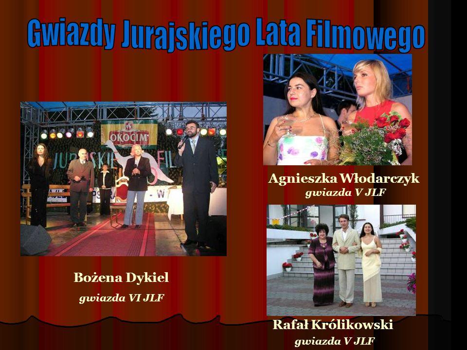 Agnieszka Włodarczyk gwiazda V JLF Rafał Królikowski gwiazda V JLF