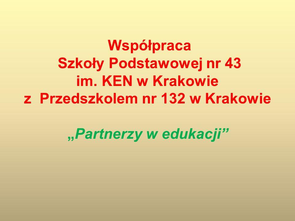 Współpraca Szkoły Podstawowej nr 43 im