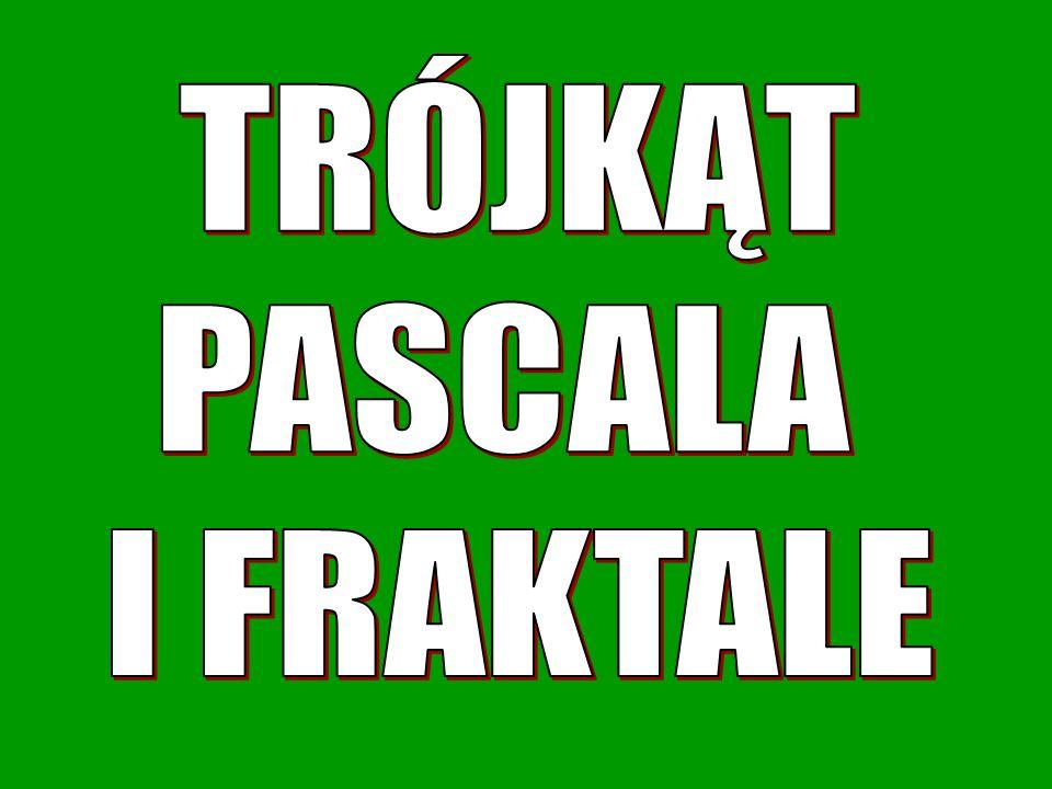 TRÓJKĄT PASCALA I FRAKTALE