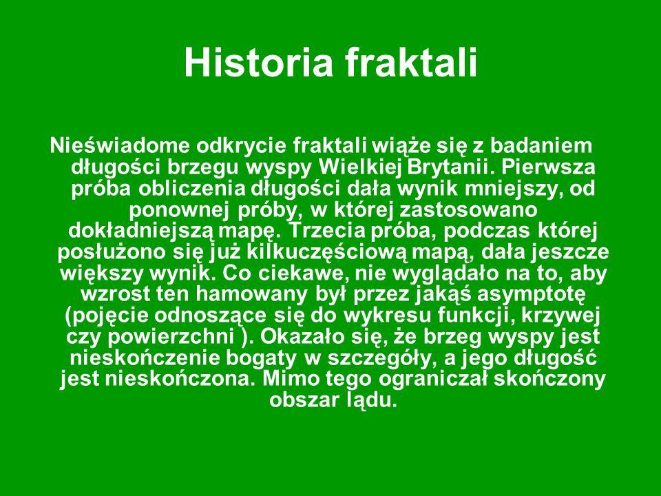 Historia fraktali
