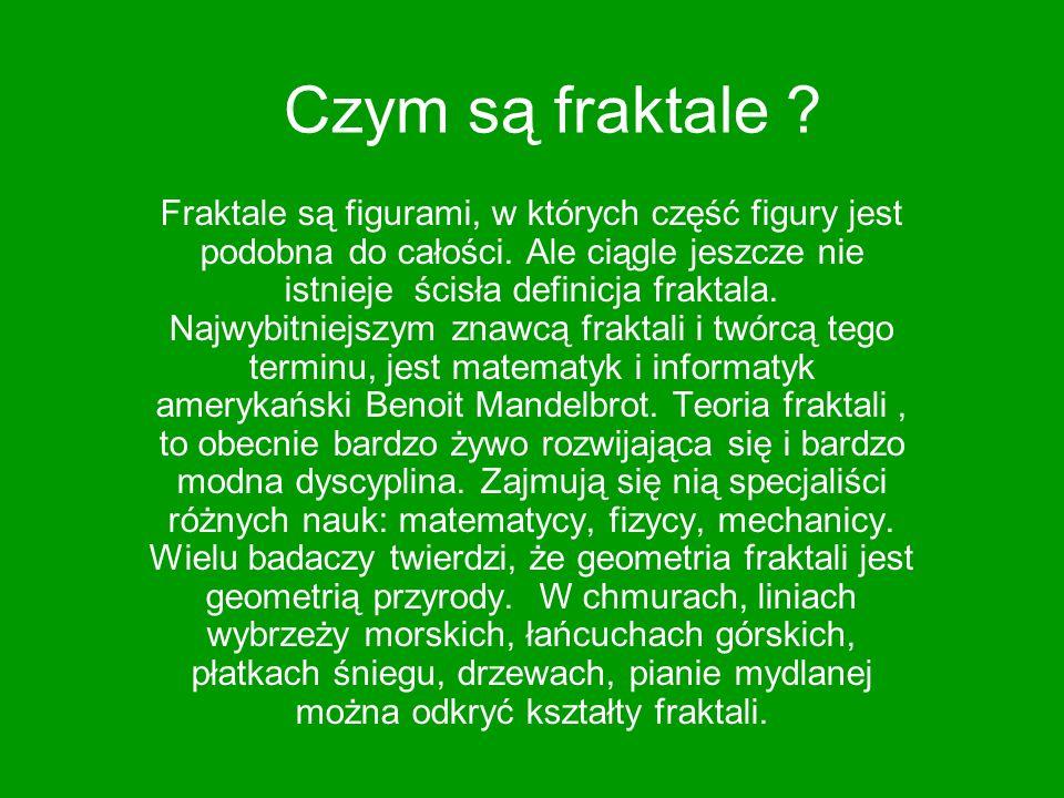 Czym są fraktale
