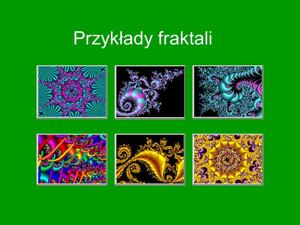 Przykłady fraktali