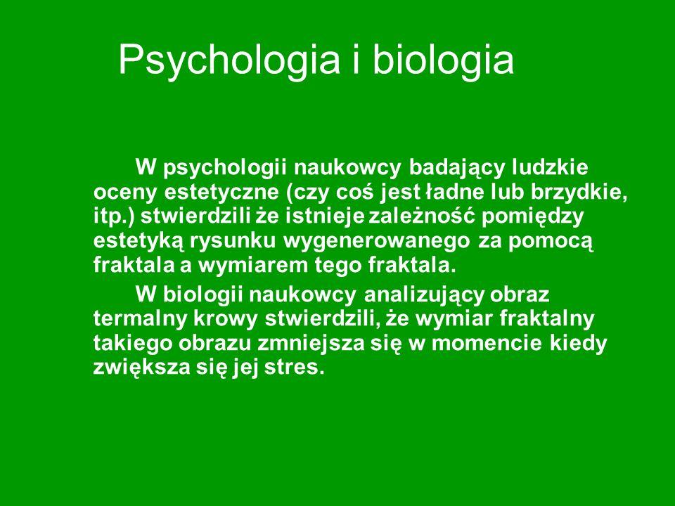 Psychologia i biologia