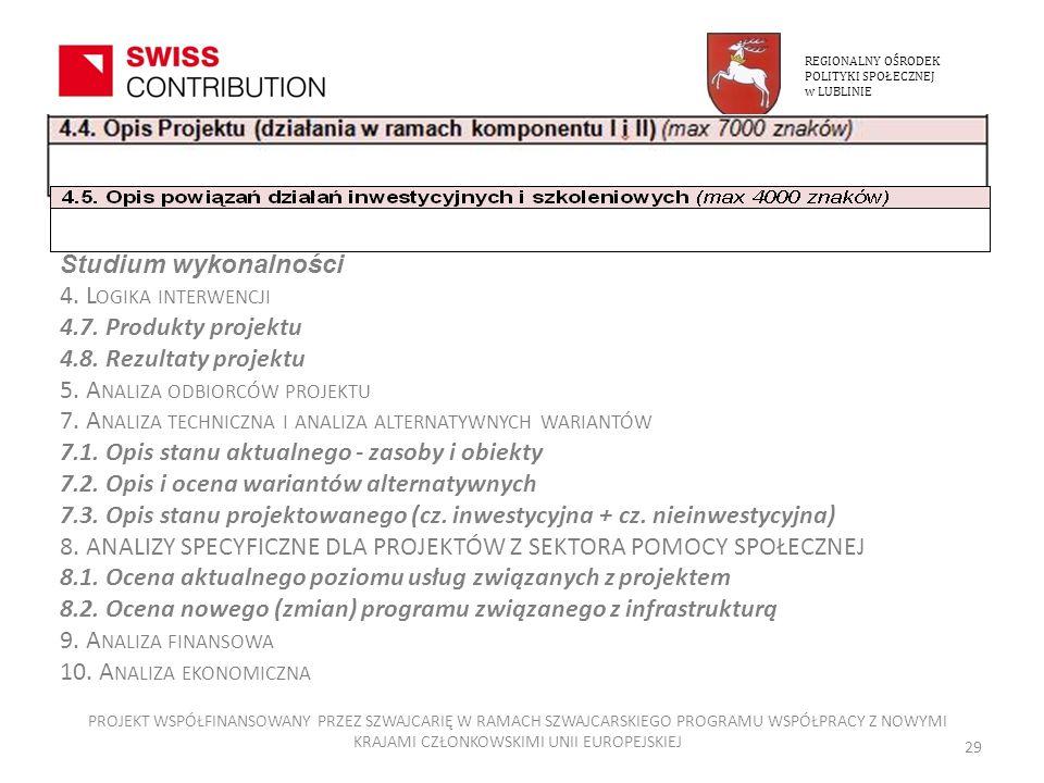 5. Analiza odbiorców projektu