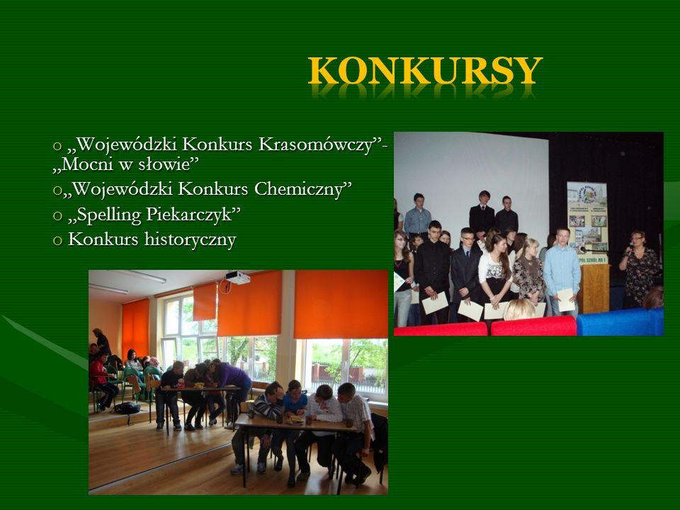 """KONKURSY """"Wojewódzki Konkurs Chemiczny """"Spelling Piekarczyk"""